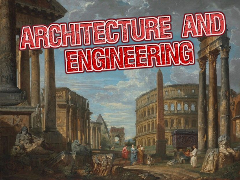Architecture and Engineering - The Rise of The Roman Empire Audio Series