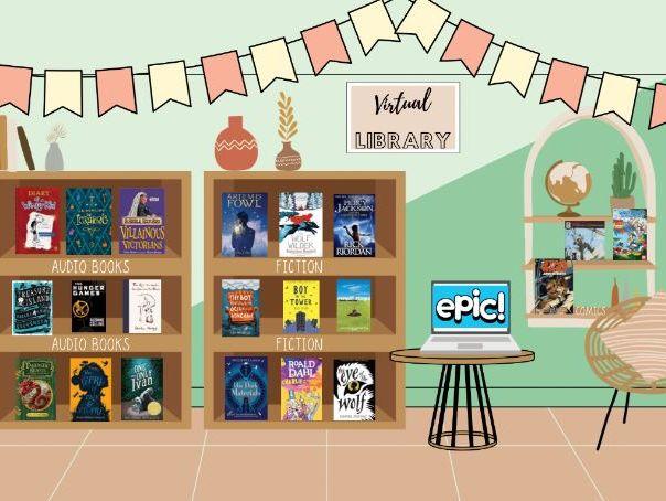Primary 5-7 Virtual Library (ks2)