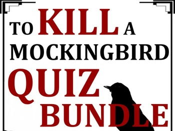 To Kill a Mockingbird Quiz Bundle (Set of 13)