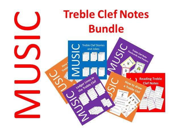 Treble Clef Notes Bundle