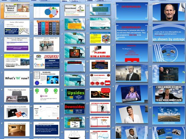 Edexcel GCSE Business (9-1) new spec - Theme 1 - 1.1 Enterprise and entrepreneurship