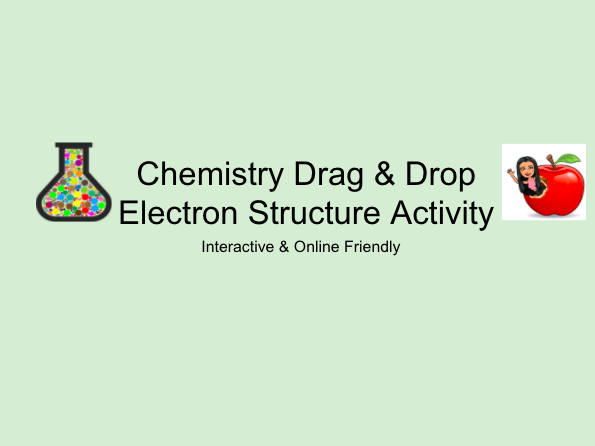 Electron Structure - Chemistry Online Activity