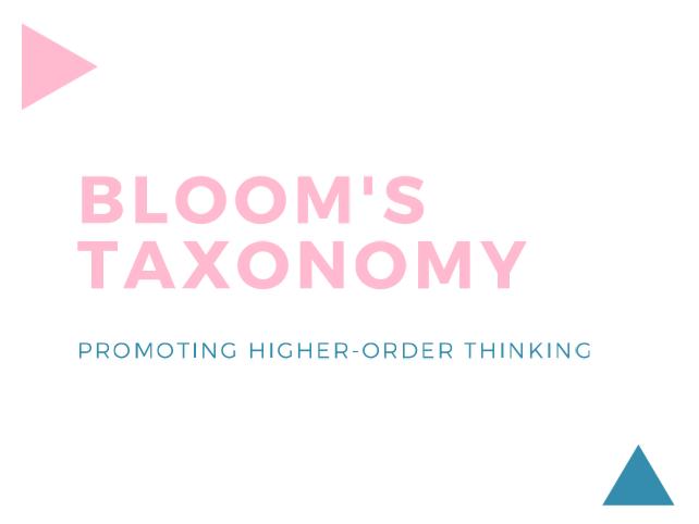 Bloom's Taxonomy Flashcards