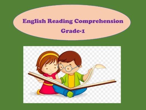 English Reading Comprehension Worksheets For Grade 1(set Of 3) Teaching  Resources