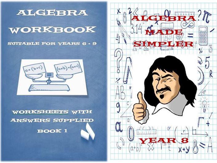 Algebra Workbook I and II