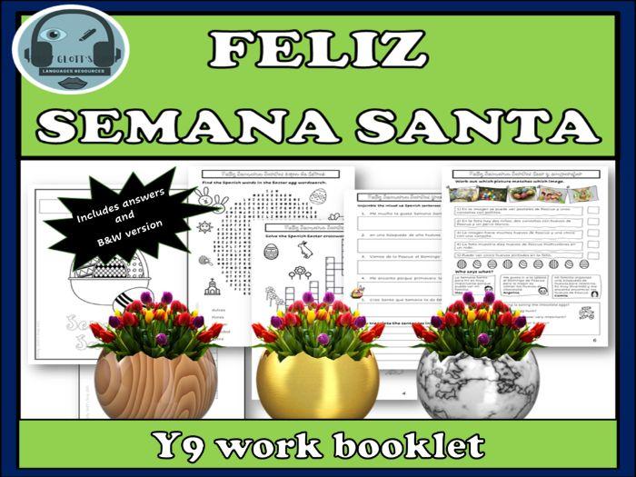 Semana Santa Easter in Spanish Y9