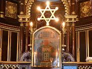 (10.2) Judaism - Interior features of a synagogue- 35 slides.
