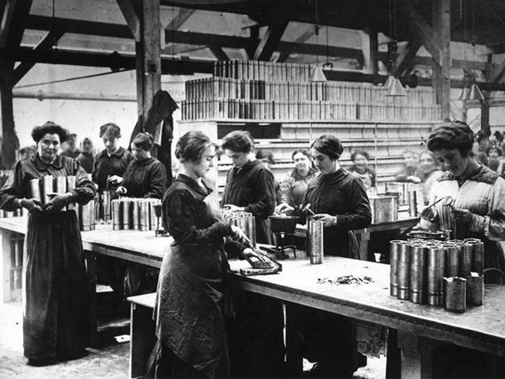 Votes For Women-Why did Women achieve the vote in the end? Women's work in World War One.