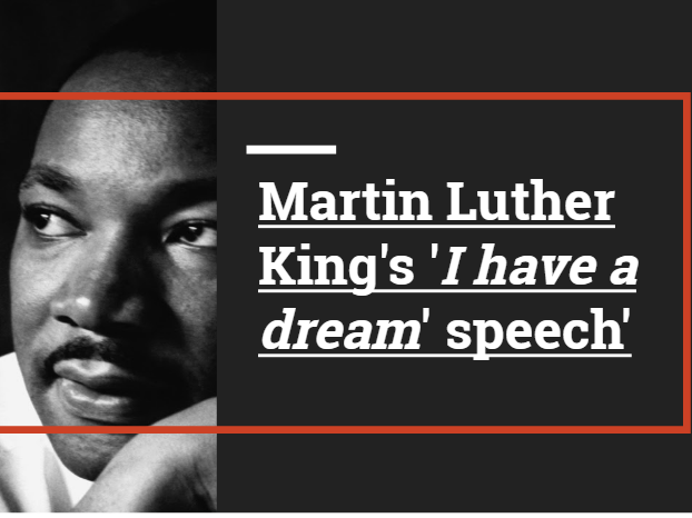 essay on martin luther king i have a dream