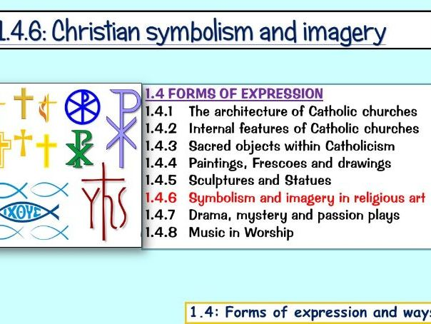 1.4.6: Christian Symbols, Iconography and Imagery (Edexcel)