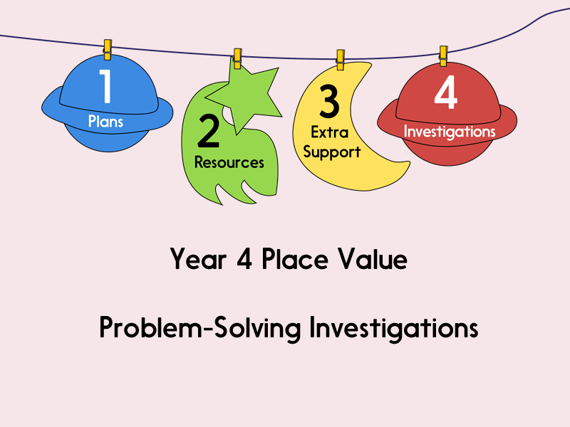 Year 4 Place Value - Problem-Solving Investigations
