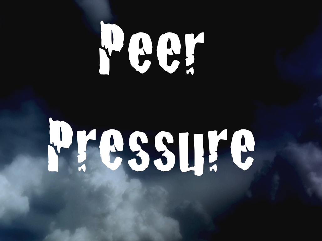 Peer pressure and bullying