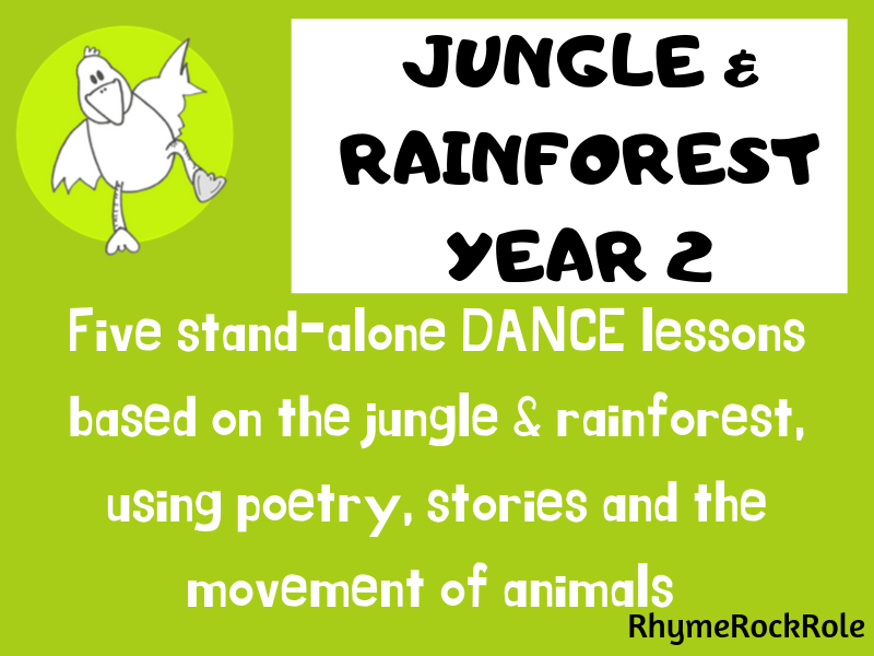 Jungle & Rainforest - dance lessons, Y2
