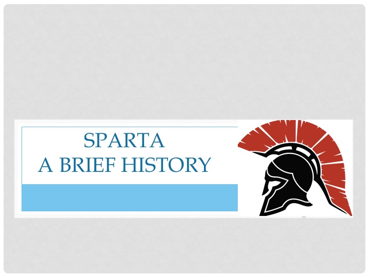 research papers on sparta