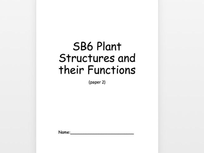 SB6 Guided Revision Booklet