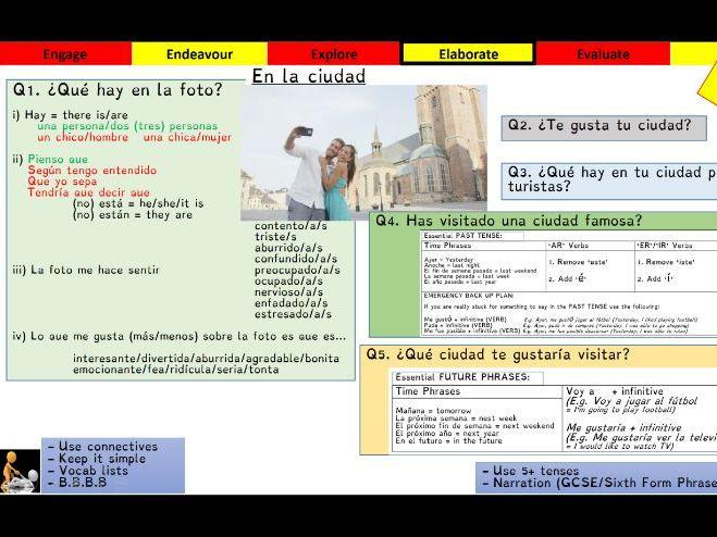 Viva GCSE - Module 5 - Destino Arequipa - Lesson 1