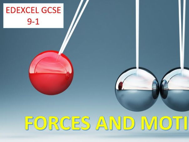 Forces and Motion GCSE 9-1  lesson 6- Momentum