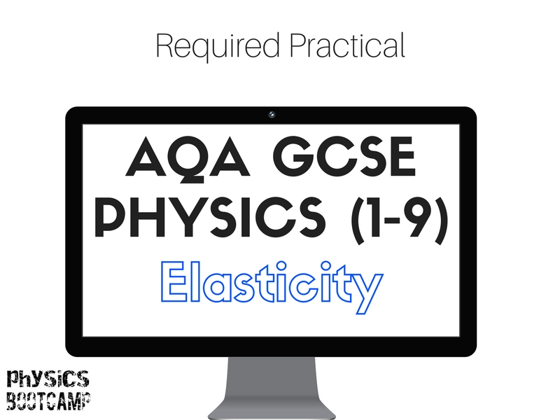 AQA GCSE Physics (1-9) Required practical - elasticity
