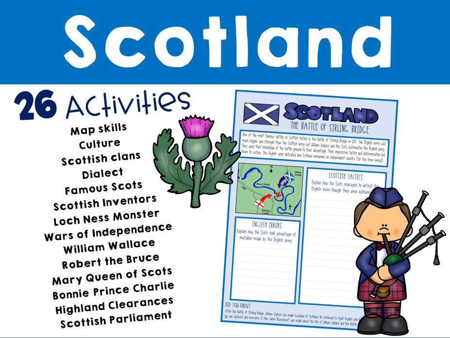 Scotland Topic Bundle