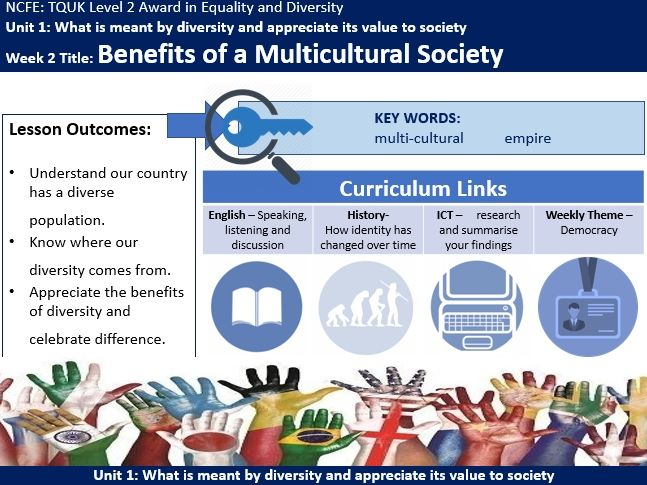Benefits of a Multicultural Society