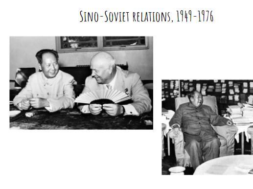 Sino-Soviet Relations, 1949-1976