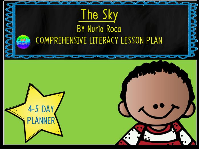 The Sky // El Cielo by Nuria Roca 4-5 Day Lesson Plan