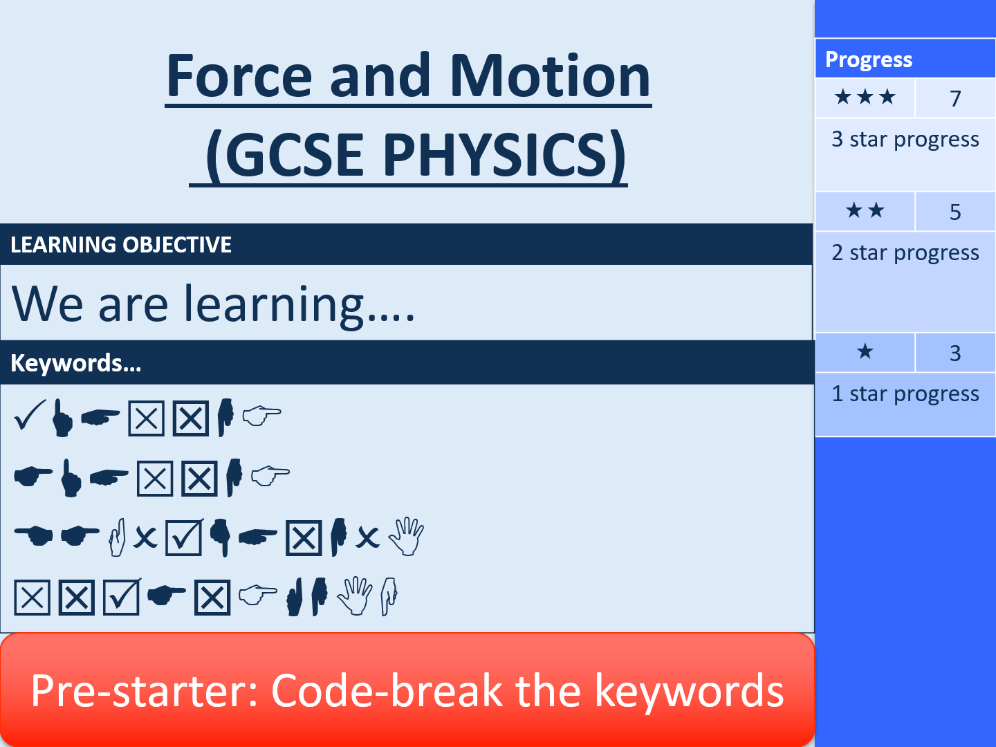 Force and Motion (8 Complete Lessons) (GCSE Physics)