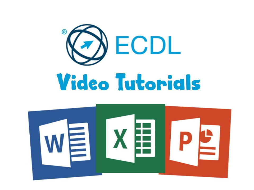 ECDL For Schools Video Tutorials