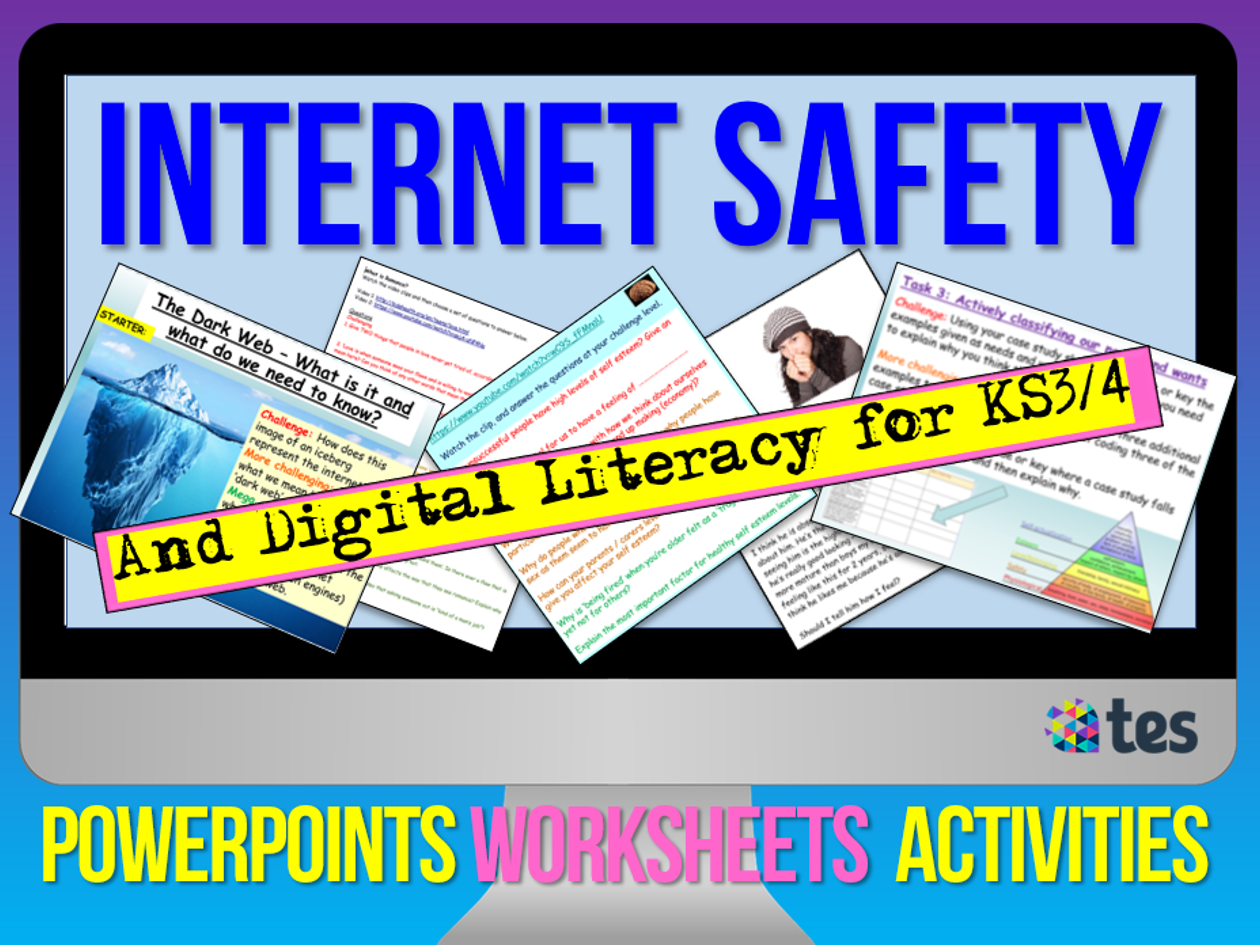 Internet + Online Safety