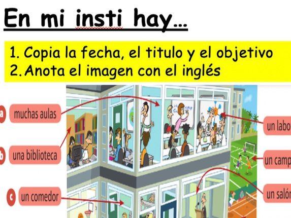 Year 7 Spanish - Viva 1 - Module 3 En mi insti