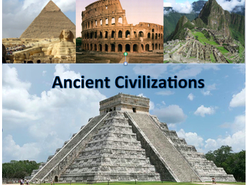 Ancient Civilizations, Collaborative Reaearch Project Unit Plan Bundle