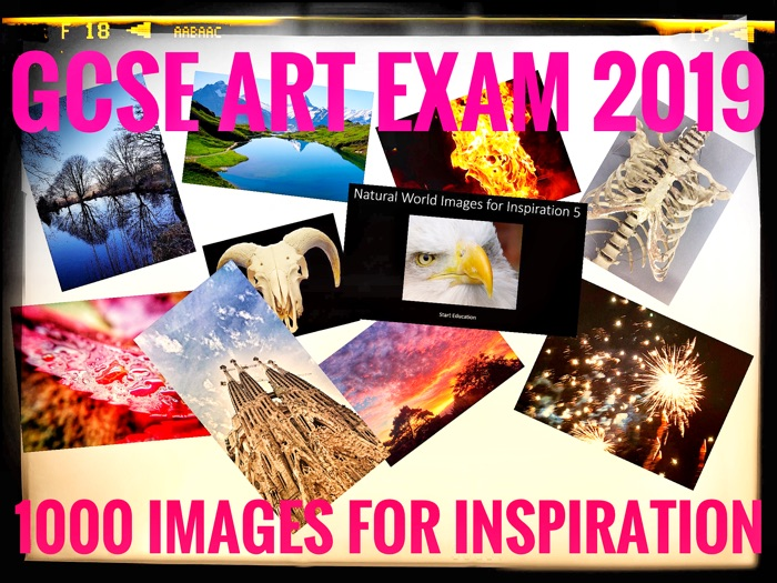 ART. GCSE ART EXAM 2019. Component 2 Image Resource Bank. 1000 Photos!