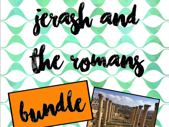 Discover Jordan: Jerash & Romans in Jordan BUNDLE