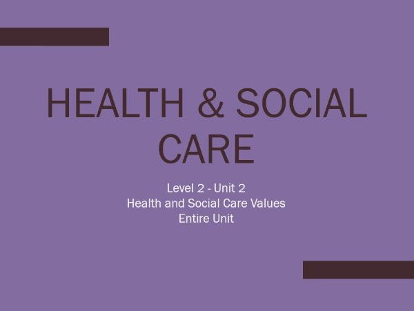 legislation unit 20 health and social Care unit and eventually he was sent home (20%) health outcomes tobacco use social determinants of health: how social and economic factors affect health 5.