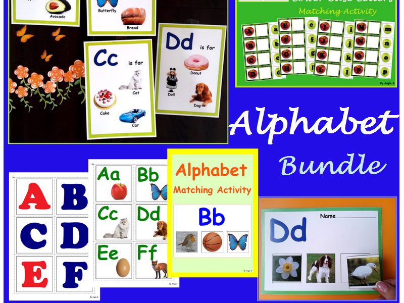 Alphabet Flashcards and Activities