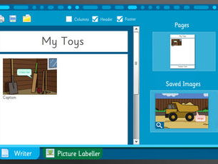 Toys - Make Your Own Information Book