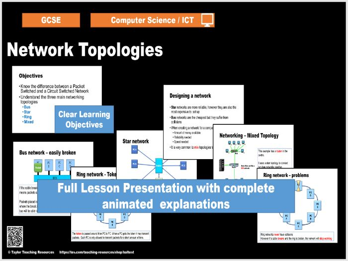 Network Topologies - Introduction to Networks - Computer Science / ICT GCSE - Full lesson