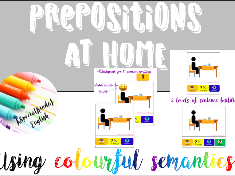 Prepositions at home IN AT ON