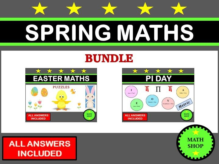 Spring Maths Bundle
