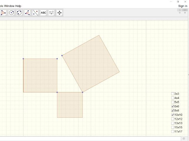 Dicovering Pythagoras