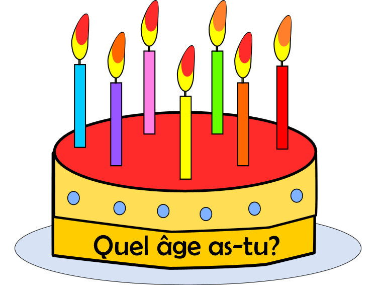 FRENCH - How old are you? - Quel âge as-tu?  et C'est quand ton anniversaire? - Worksheets