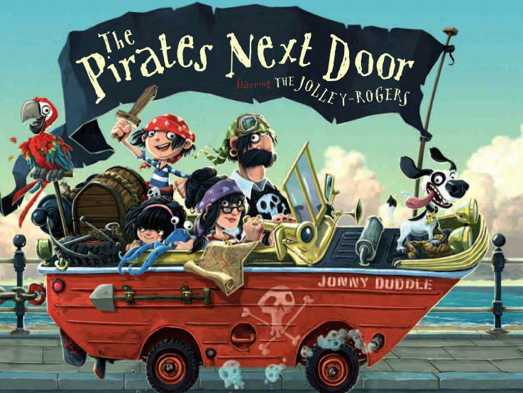 The Pirates Next Door- Sequencing the Story