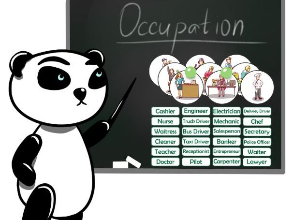 Printable Occupation Flash Cards, Text cards.