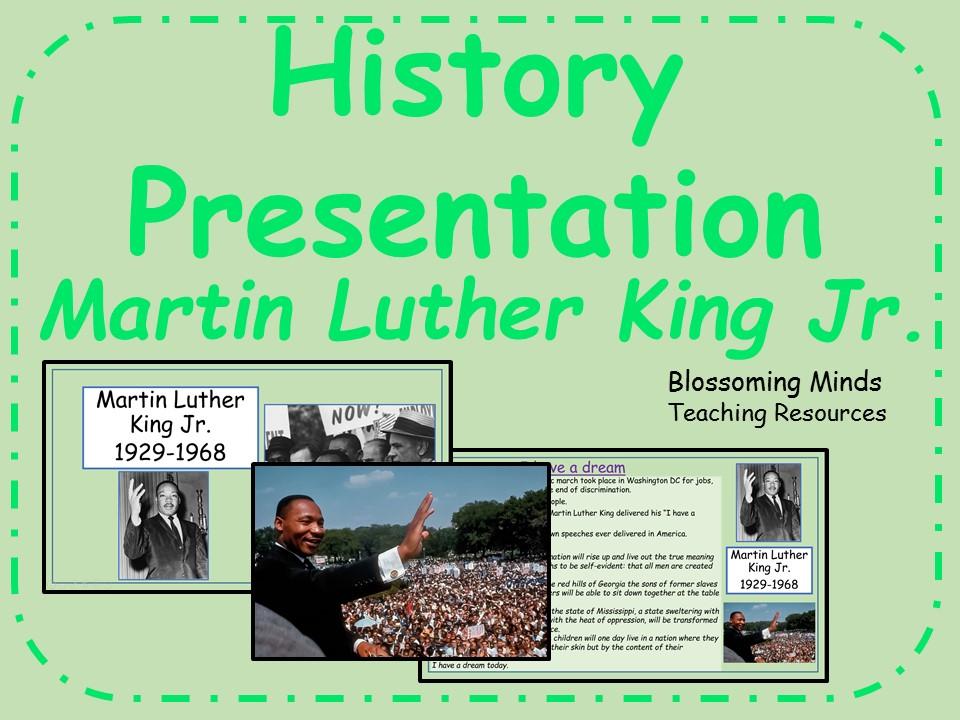 Martin Luther King Jr. presentation - Black History Month