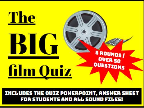 The BIG Film Quiz