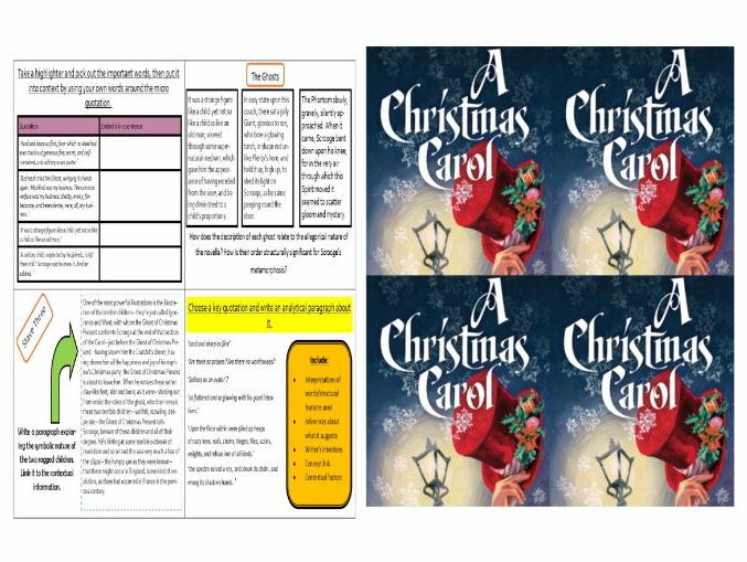 Challenge cards/ Extension tasks (Christmas Carol, Romeo and Juliet, Blood Brothers)