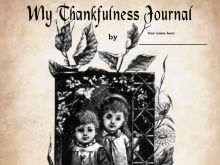 """My Thankfulness Journal"" Creative Writing"