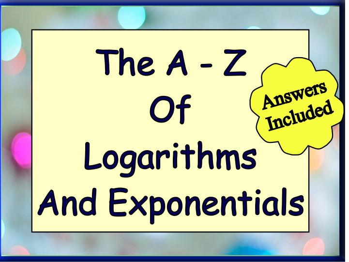 Logarithms And Exponentials