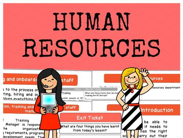 Human Resources - Full Lesson