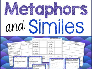 Figurative Language: Metaphors and Similes